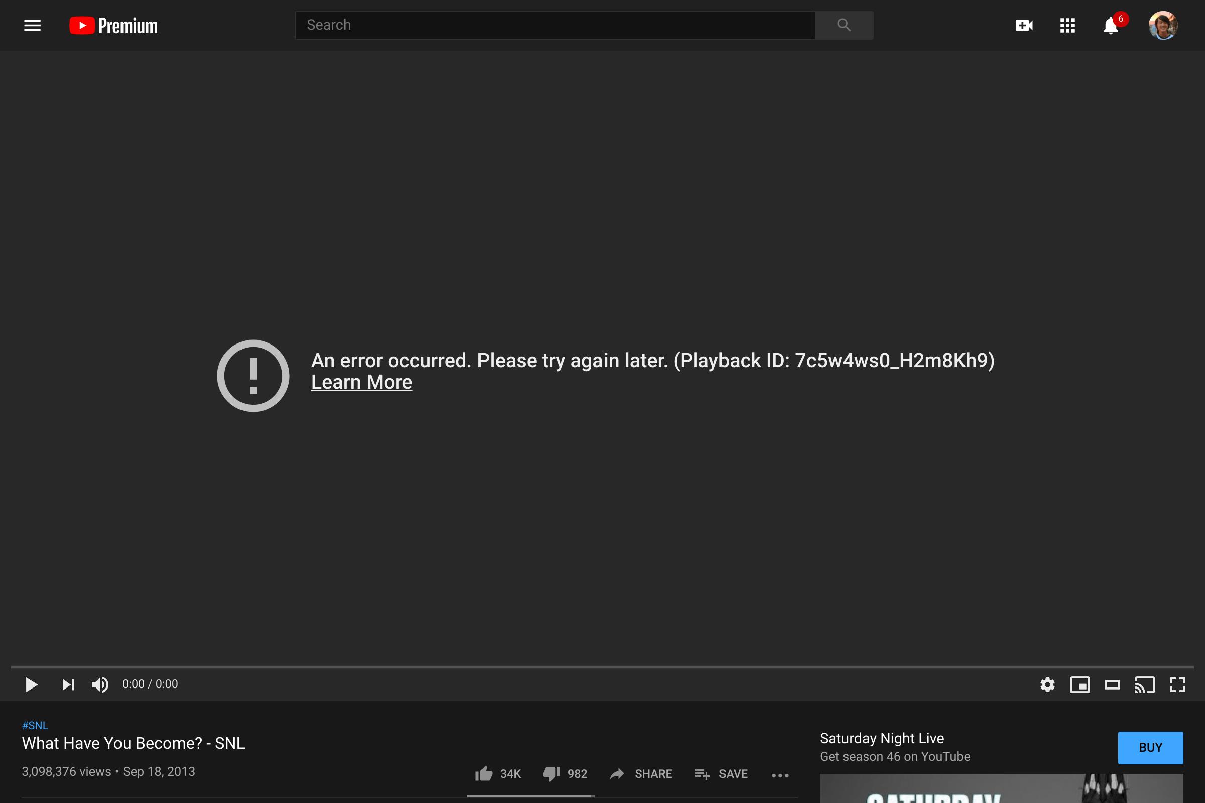 YouTube Down, Pengguna Tidak Bisa 'Play' Video