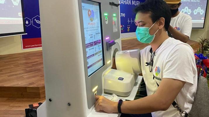Dokter Robot Pertama RI Diciptakan, Raih Rekor MURI