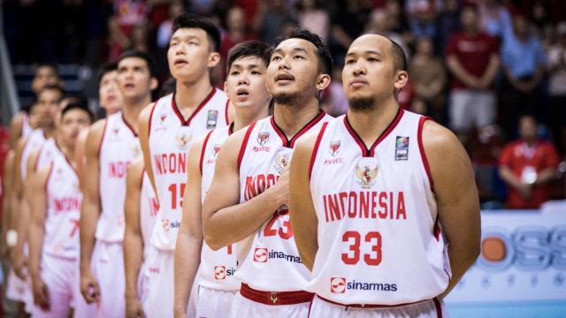 Timnas Basket Indonesia Menangkan Laga Melawan Thailand di Laga Kualifikasi Piala Asia FIBA 2021 (Foto: Ariya Kurniawan/FIBA Media)