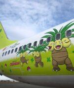Pokemon Jadi Tema Sebuah Pesawat Maskapai Jepang, Begini Tampilannya!