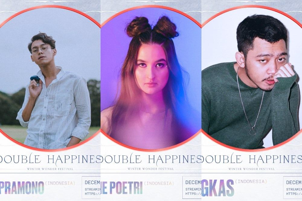 """DOUBLE HAPPINESS: Winter Wonder Festival 2020 Turut Diramaikan oleh Pamungkas dan Ardhito Pramono"