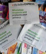 Pasang Iklan di Koran, WhatsApp Minta Pengguna Tidak Pergi!