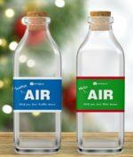 Udara Bersih Dijual Dalam Kemasan Botol, Harganya Rp 480 Ribu