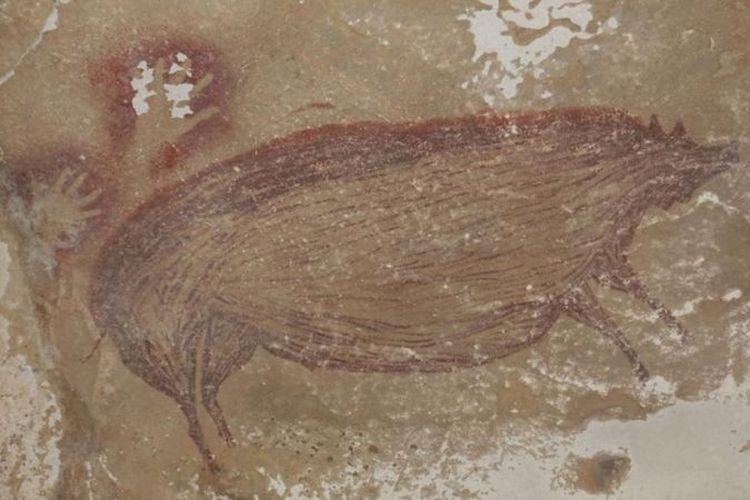 Lukisan Gua Tertua di Dunia Ditemukan di Sulawesi