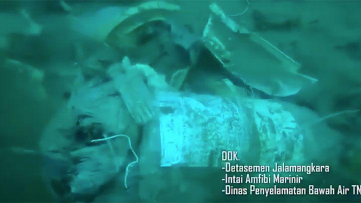Sriwijaya SJ 182: Marinir Rilis Video Pencarian Bangkai Pesawat di Bawah Laut