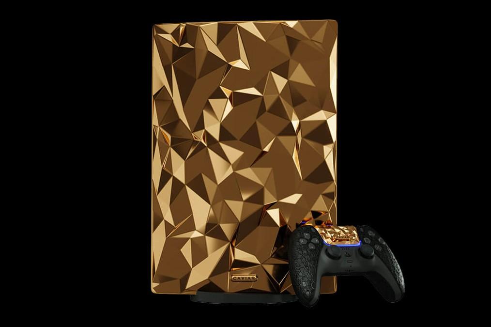 PlayStation 5 Ini Dilapisi Emas dan Kulit Buaya!