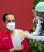 Jokowi Divaksin Dosis Kedua, Begini Pesannya Bagi Masyarakat