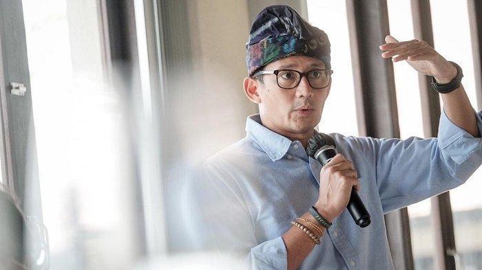Berkantor di Bali, Sandiaga Uno Ingin Langsung Melihat Pemulihan Pariwisata