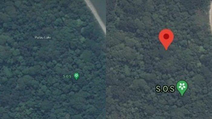 Sinyal SOS Terlihat di Pulau Laki