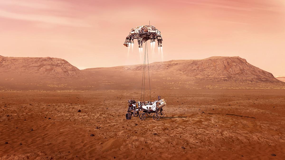Robot NASA Berhasil Mendarat di Mars untuk Cari Jejak Kehidupan!