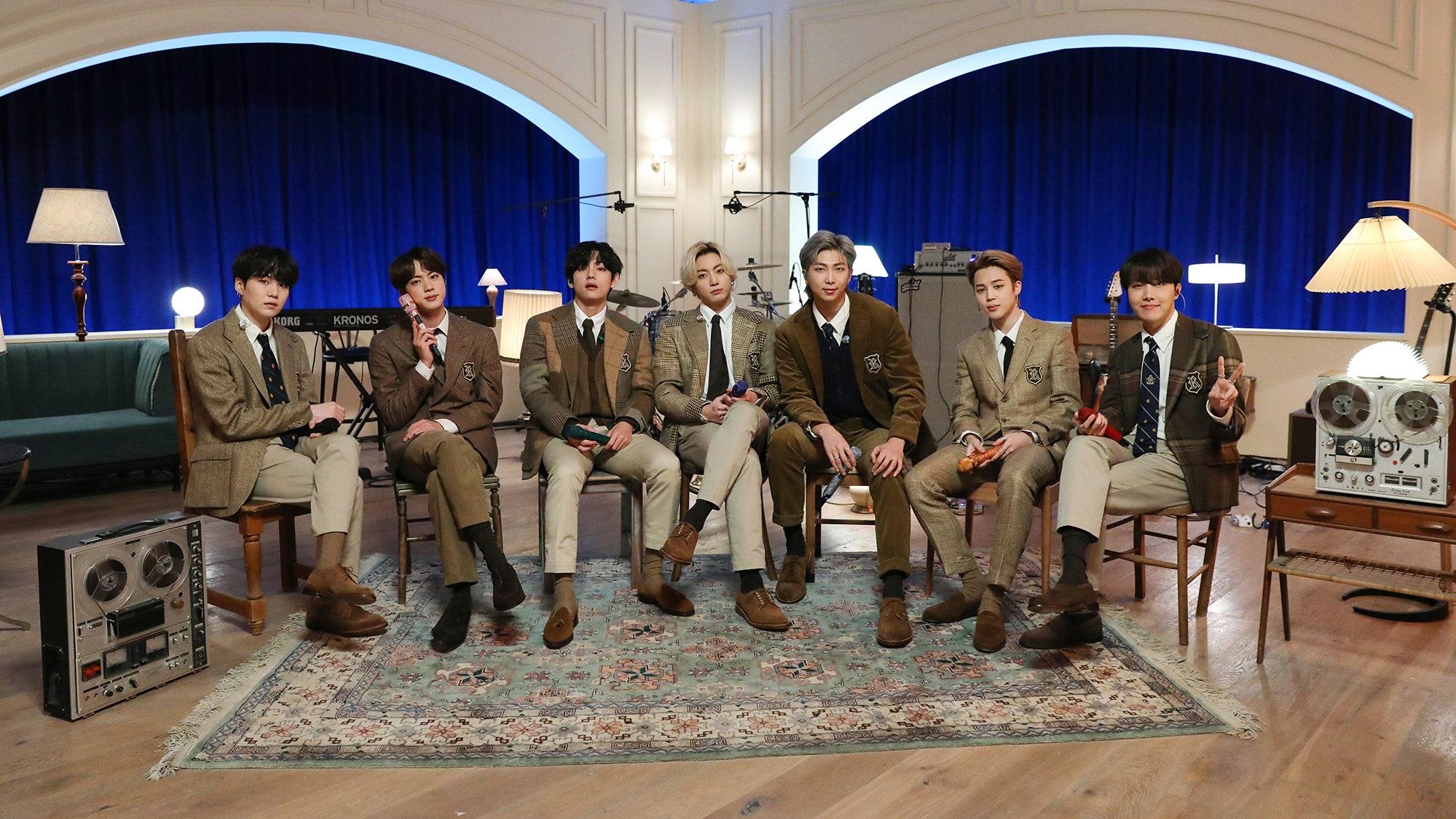 BTS on MTV's Unplugged