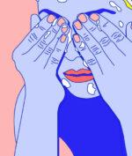 Face Washing Illustration