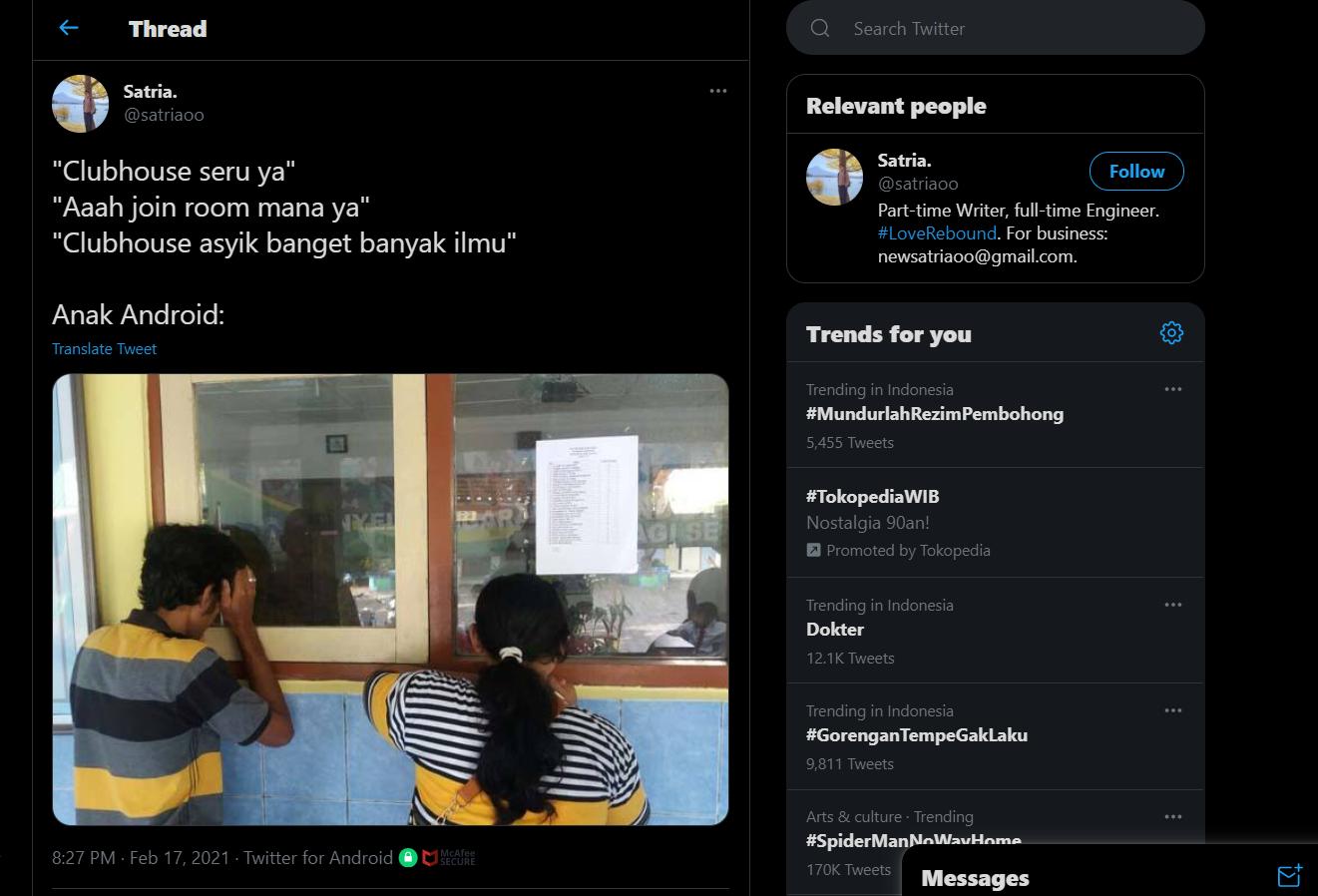 Pengguna Android Akan Segera Bisa Mengakses ClubHouse