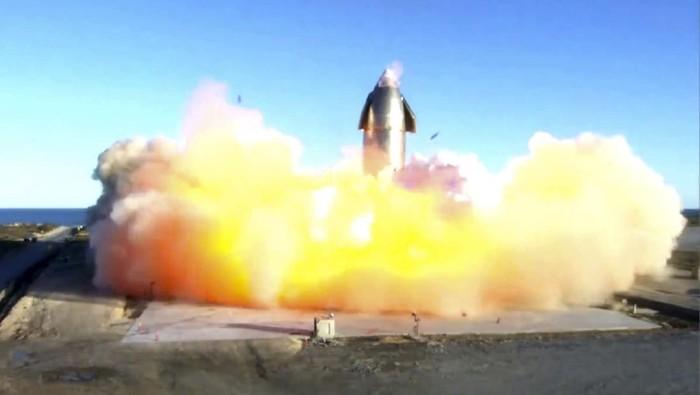 Roket SpaceX Elon Musk Meledak (Lagi) Saat Uji Coba