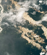 Golden River by NASA