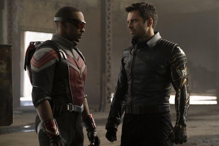 The Falcon and The Winter Soldier Jadi Serial Disney+ Terlaris