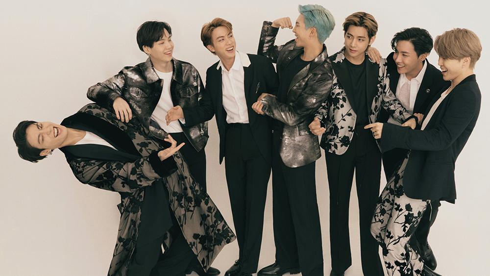 BTS on Variety