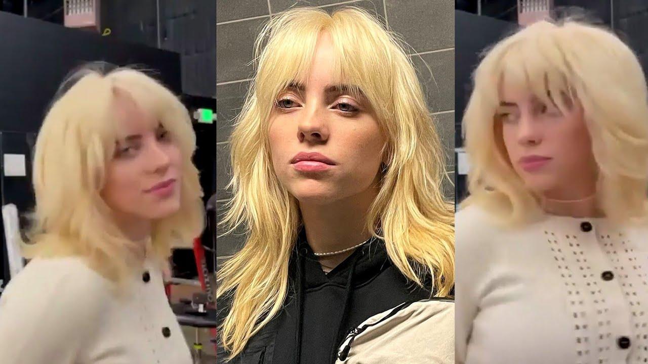 Blonde Billie Eilish