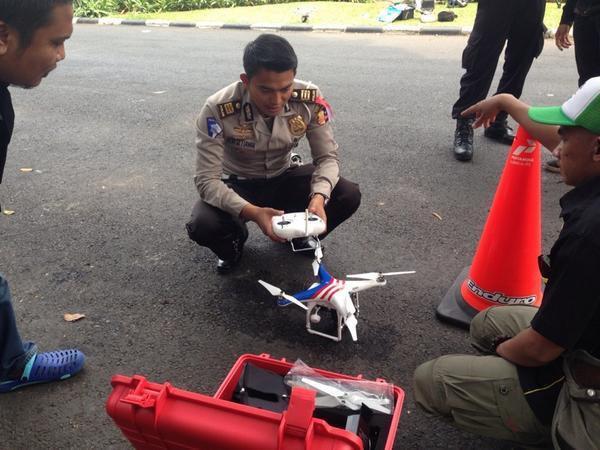 Drone Polisi Akan Mulai Ramaikan Langit Jakarta, Apa Tujuannya?
