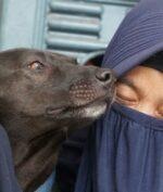 Hesti Sutrisno dan Anjingnya