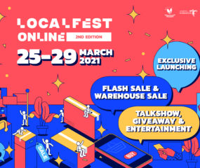 LOCALFEST Online 2nd Edition 2021 Banjir Rilisan Ekslusif dan Flash Sale!