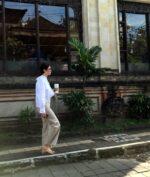 Turis di Bali tidak pakai masker