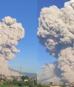 Gunung Sinabung Meletus, Kolom Abu Capai Ketinggian 5.000 Meter