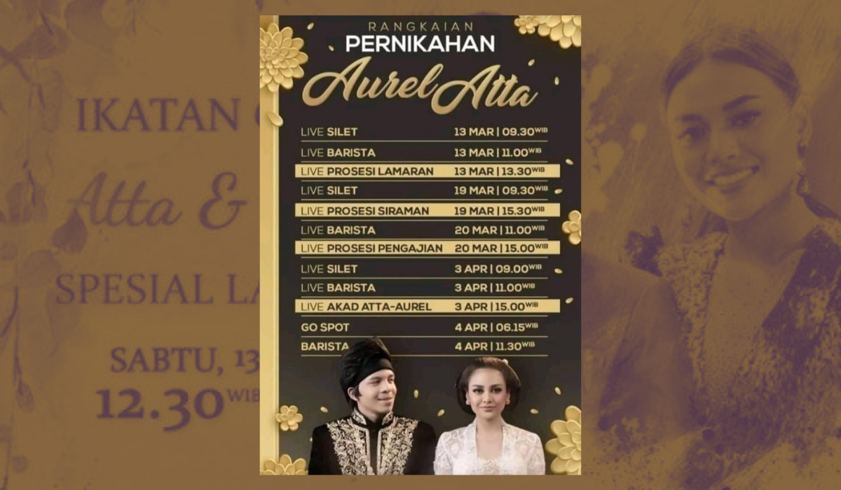 Siaran Lamaran Atta Halilintar & Aurel Hermansyah Dinilai Tak Bermanfaat, Dapat Sanksi dari KPI