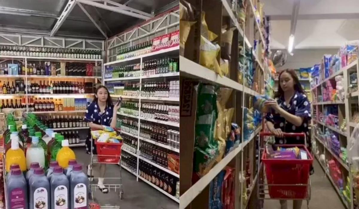 TikToker Ini Punya Supermarket Dalam Rumahnya