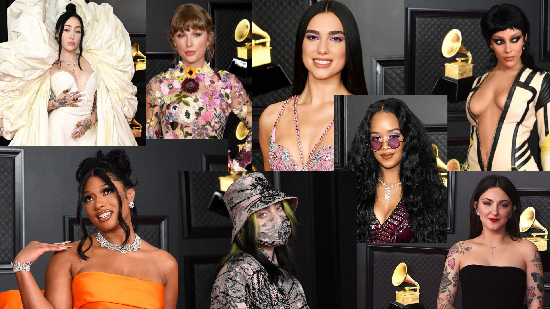 Grammy Makeup Compilation