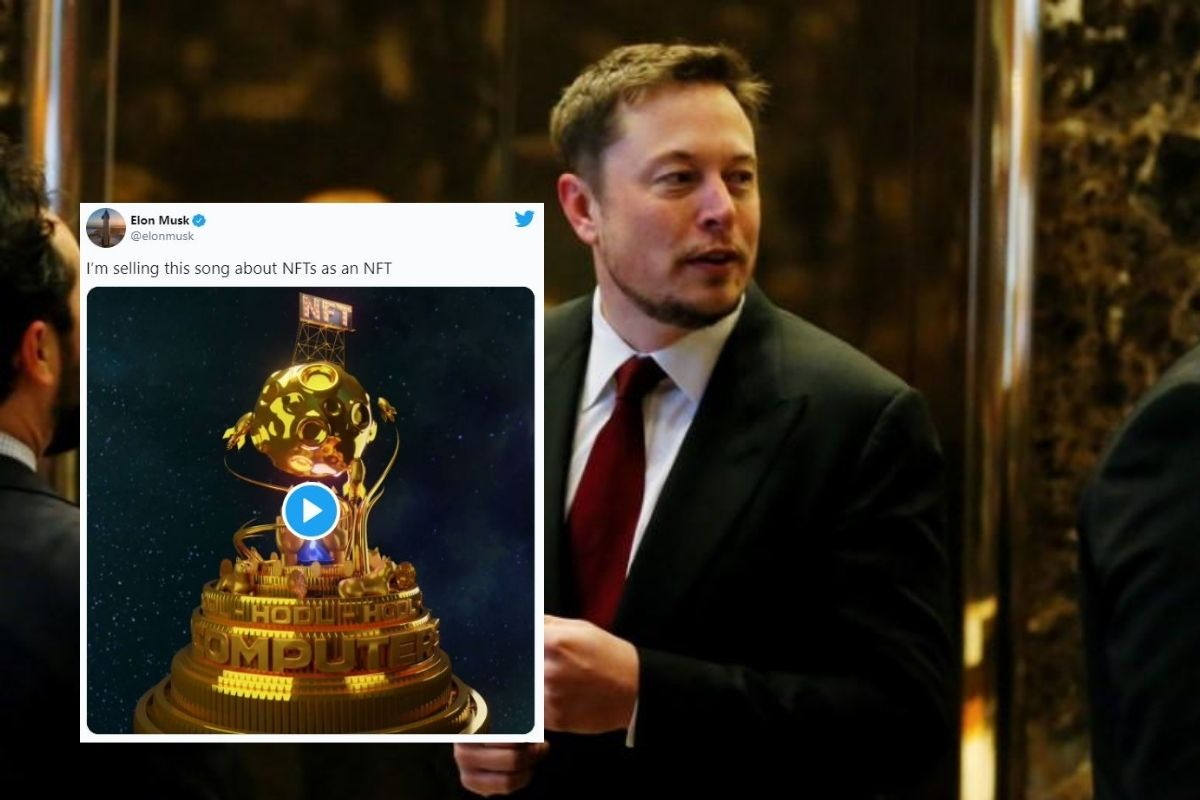 Elon Musk Sells his 'NFT Song'