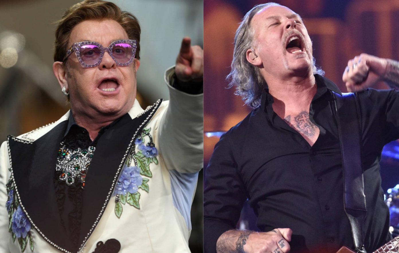 Elton John and Metallica