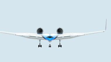 Pesawat Masa Depan Flying V, Penumpang Duduk di Bagian Sayap?