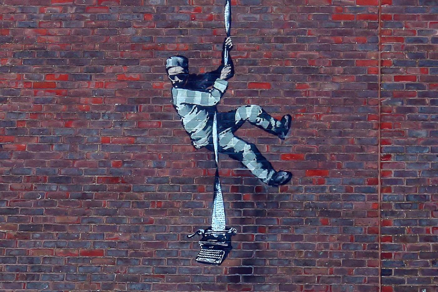 """Banksy Bikin Karya yang """"Terinspirasi"""" dari Bob Ross"""