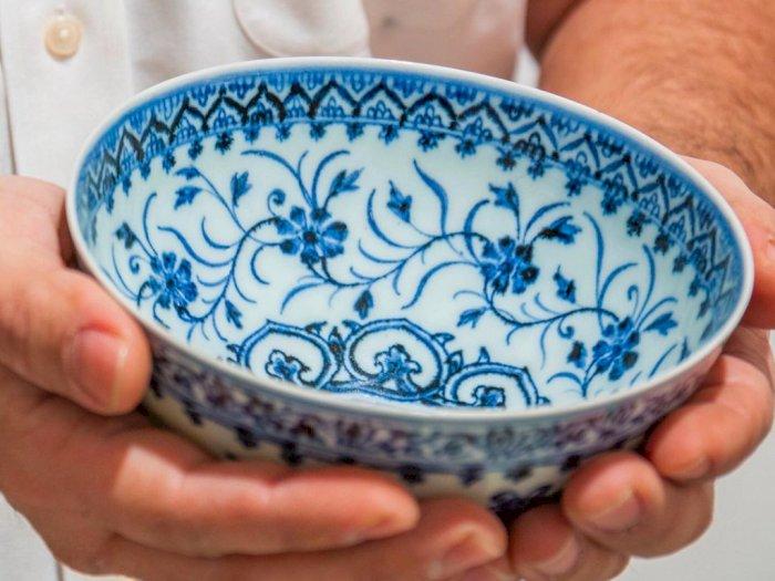 Beli Mangkuk di Pasar Loak, Ternyata Itu Artefak Seharga 7 Miliar