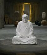 Patung Buddha 'Trump'