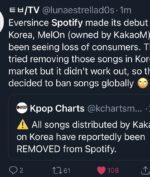 Lagu K-Pop Hilang Dari Spotify, Fans Kpop Geram! Apa Penyebabnya?