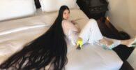 Rapunzel Dunia Nyata: Perempuan Ini Tak Pernah Potong Rambut Selama 15 Tahun