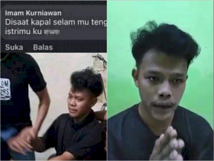 Imam Kurniawan, yang diduga pelaku komentar cabul postingan KRI Nanggala 402