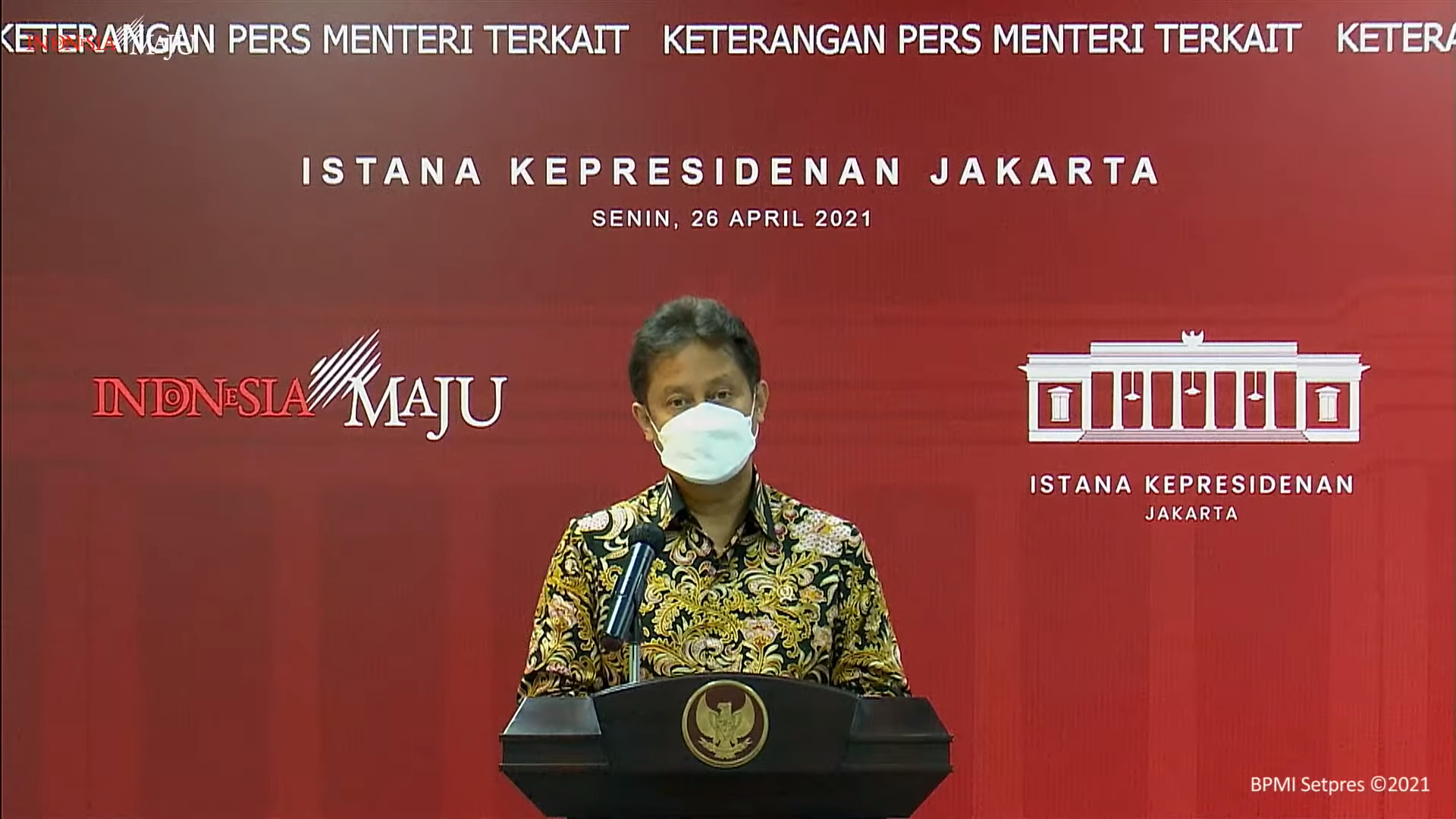 Mutasi Corona Seperti India Sudah Tiba di Indonesia, 10 Orang Tertular
