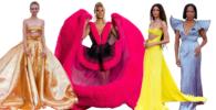 Gaun-Gaun Selebriti Pada Oscar 2021, Ada yang Pakai Bahan 900 Meter!