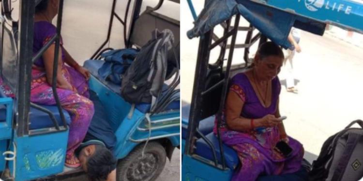 Covid-19 India Makin Parah, Seorang Ibu Terpaksa Bawa Jenazah Anak Naik Becak