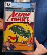 Komik Pertama Superman Terjual Seharga 3,25 Juta Dollar US