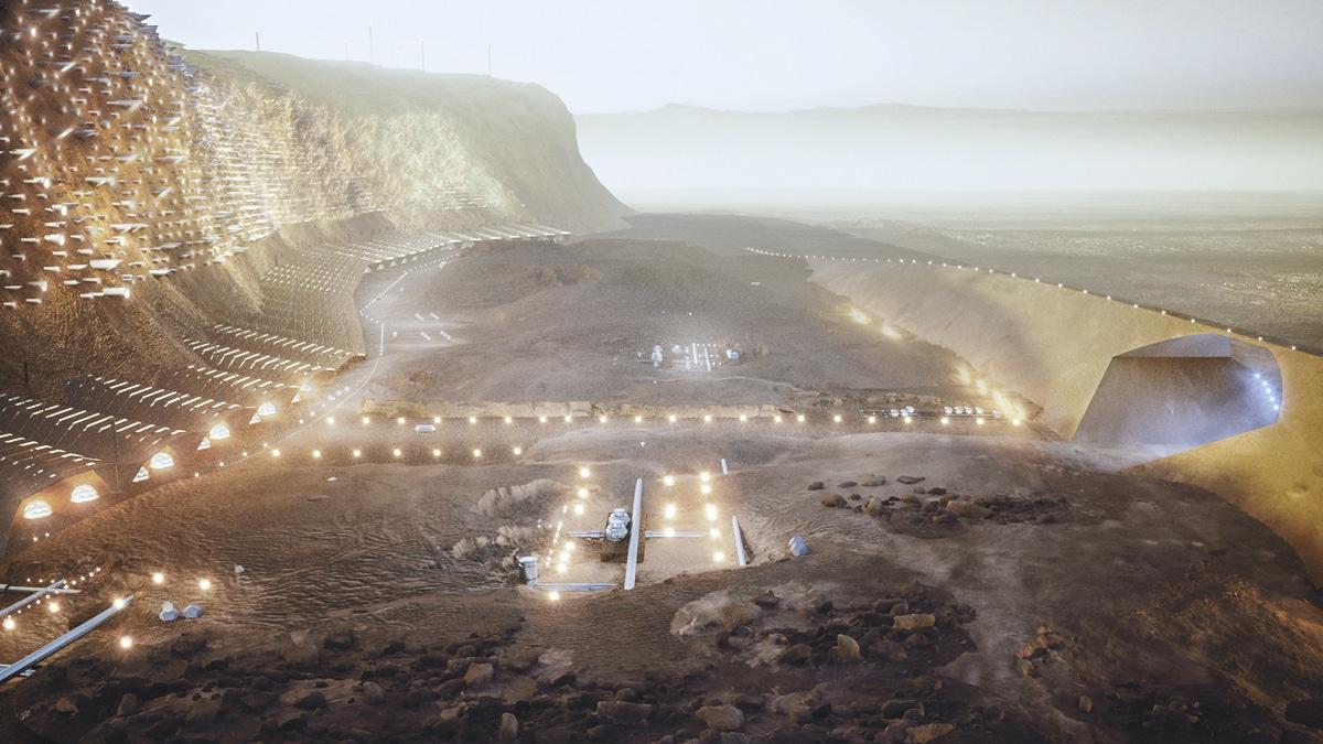 Pemukiman Pertama di Mars Mulai Dirancang, Mulai Dibangun Pada 2054