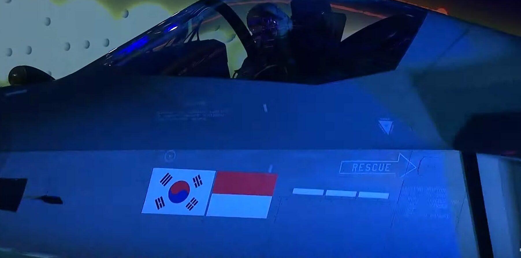Bendera Indonesia Nampak di Jet Tempur KFX Korsel, Apa Alasanya?