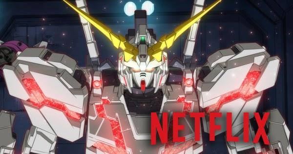 Gundam bakal tayang di Netflix