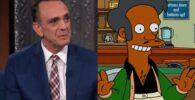 The Simpson star Hank Azaria and Apu