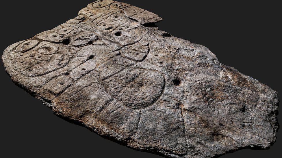 Lempengan Batu peta 3d tertua