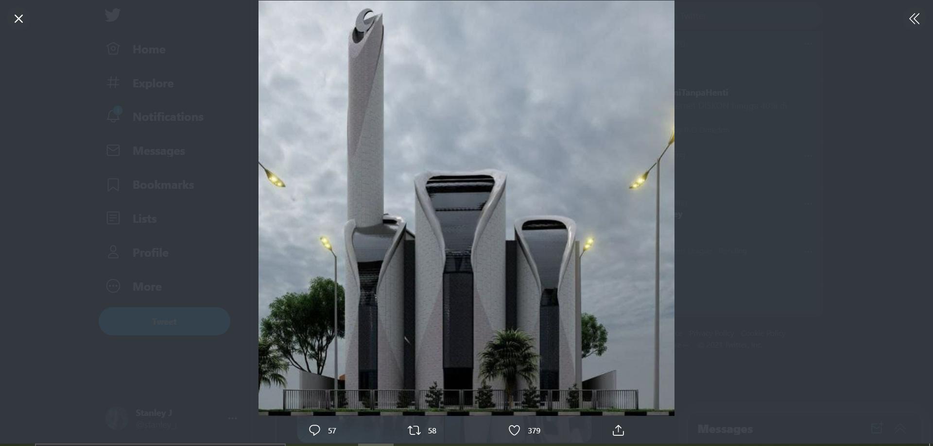Ridwan Kamil Arsiteki Masjid Syeikh Ajlin di Palestina!