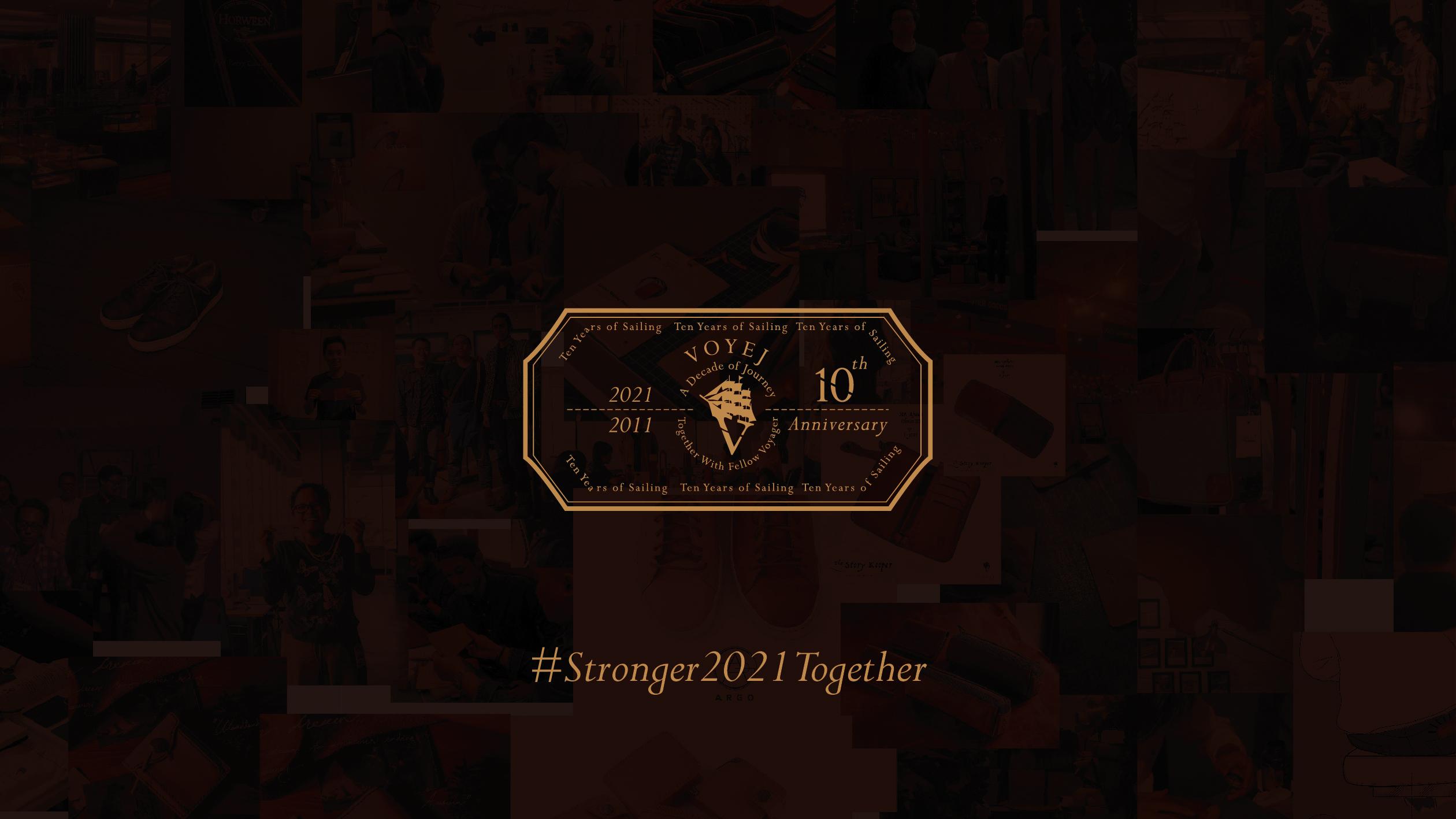 Belayar 10 Tahun, Voyej Gaungkan Campaign #StrongerTogehter